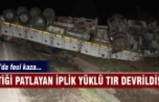 Bursa'da feci kaza 1 yaralı