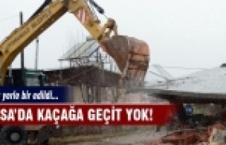 Bursa'da kaçağa geçit yok