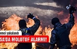 Bursa'da molotof alarmı! 5 kişi gözaltında...