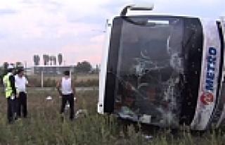 Bursa'da otobüs faciası! 1'i ağır 6 yaralı