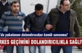 Bursa'da yakalanan dolandırıcıdan komik savunma