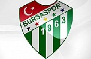Bursaspor'un rakibi belli oldu