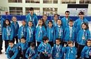 Büyükşehir, Erzurum'da 20 Sporcu İle 40 Madalya...