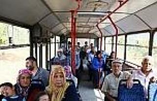 Büyükşehir'den Köylere Belediye Otobüsü Hizmeti