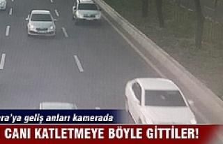 Canlı bombaların Ankara'ya geliş anı yakalandı