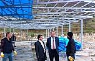 Ceza İnfaz Kurumu Müdürü Mustafa Şen, Yapımı...