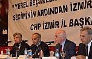 Chp İzmir Zirvede İzmir Ve Türkiye'yi Tartıştı