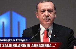 Cumhurbaşkanı Erdoğan: PKK'nın saldırılarının...