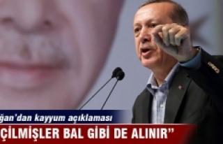 Cumhurbaşkanı Erdoğan: 'Seçilmişler bal...