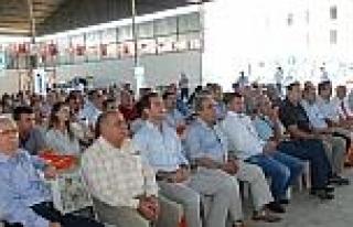 Didim'de 'pamukta Damalama Sulama' Tarlada İncelendi