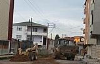 Dilovası Sokakları Asfalta Hazırlanıyor