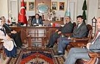 Diyanet-sen'den Başkan Yazgı'ya Ziyaret