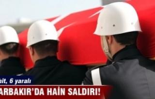Diyarbakır'da saldırı: 1 asker şehit, 6 asker...