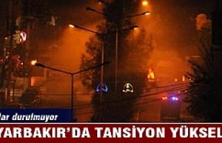 Diyarbakır'da tansiyon yükseldi