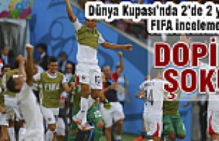 Dünya Kupası'nda doping şoku!