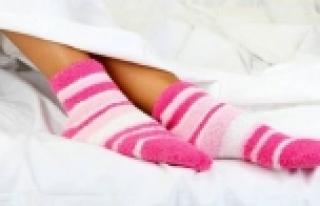 Eğer çorapla yatıyorsanız...
