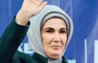 Emine Erdoğan Kozahan'da alışveriş yaptı