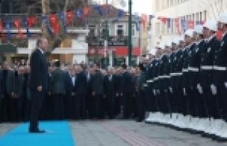 Erdoğan Bursa Valiliği'ni ziyaret etti