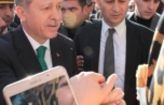 Erdoğan Cuma namazını Ulu Cami'de kıldı