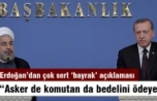 Erdoğan: Kutsalımıza dokunan çocuk olsa bile bedel...