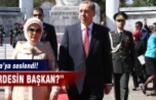 Erdoğan, Obama'ya seslendi!