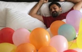 Erhan Çelik'e doğum günü sürprizi