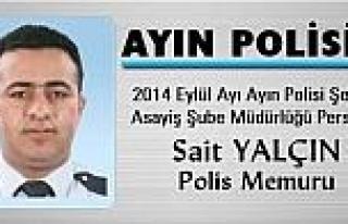 Erzurum'da Yalçın Ve Urgancı, Ayın Polisi Seçildi