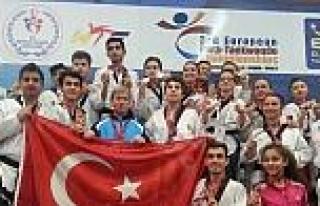"""Erzurumlu Taekwondocular """"open"""" Dedi"""
