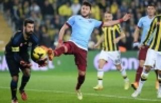 Fenerbahçe 0 - Trabzonspor 0
