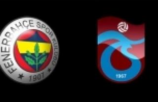 Fenerbahçe ve Trabzonspor birbirine düşürdü!