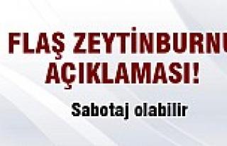 Flaş Zeytinburnu açıklaması!