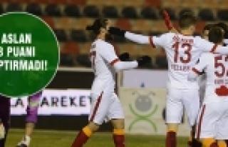 Galatasaray deplasmandan galip dönüyor!