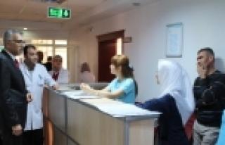 Genel Sekreterimizden Hastanelere Ziyaret
