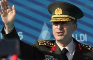 Genelkurmay Başkanı Akar'dan Cerablus açıklaması