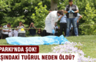 Gezi Parkı'nda ceset bulundu!