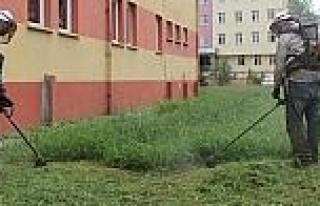 Giresun Belediyesi Okul Bahçelerini Yeni Eğitim...