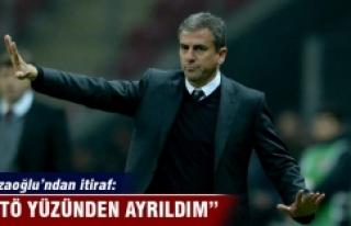 Hamzaoğlu'ndan itiraf: FETÖ yüzünden ayrıldım!