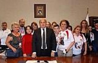 Haytap, Taşköprü'de Başkan Arslan'ı Ziyaret...