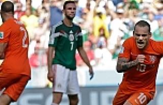 Hollanda - Meksika maçının golleri / TIKLA İZE