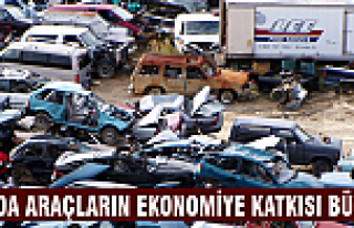 Hurda araçların ekonomiye katkısı büyük