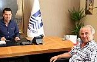 Hüseyin Şimşek, Başkan Kocadon'u Ziyaret Etti