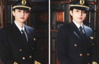 İki kızkardeş aynı kokpitte uçup tarihe geçtiler