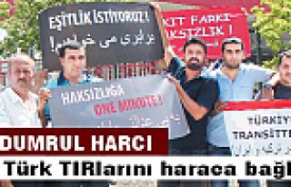 İran Türkiye'yi haraca bağladı