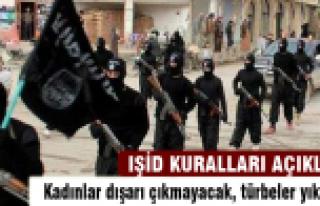 IŞİD kurallarını açıkladı!