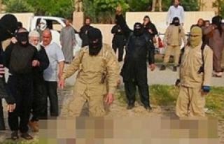 IŞİD militanları çatışmadan kaçan 7 IŞİD'liyi...
