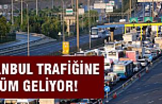 İstanbul trafiğine çözüm geliyor!