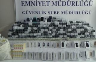 İstanbul'da kaçakçılara yönelik operasyon