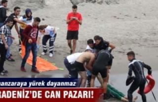 Karadeniz'de can pazarı! Bu manzaraya yürek dayanmaz
