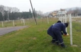 Kartepe Belediyesi Yeşiltepe Parkı'nı Yeniledi