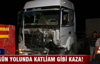 Katliam gibi kaza: 7 ölü
